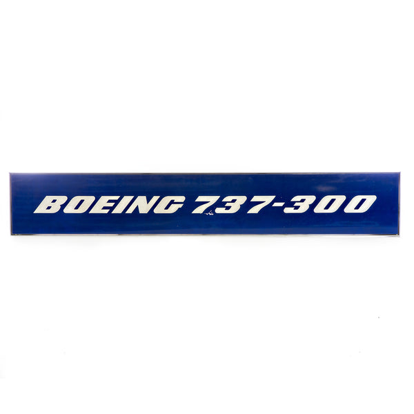 737-300 Fuselage Section Wall Sign
