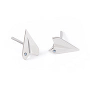 Swarovski® Airplane Earrings