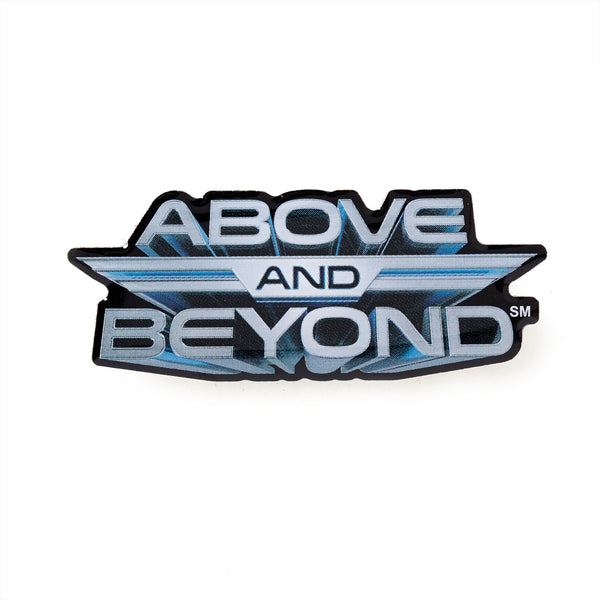 Above and Beyond Logo Lapel Pin – The Boeing Store