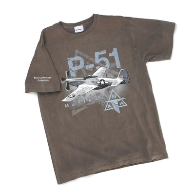 Boeing North American Aviation P-51 T-Shirt (249972097036)