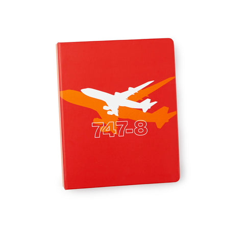 747-8 Shadow Graphic Notebook