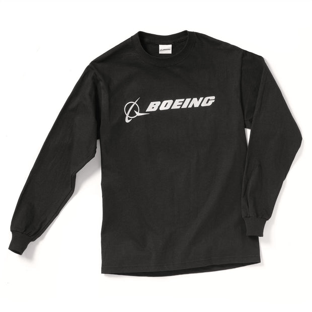 Boeing Logo Signature Long-Sleeve T-Shirt