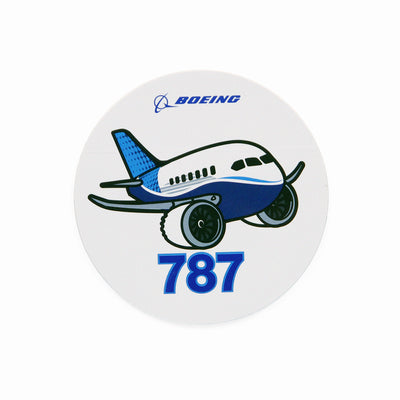 Boeing 787 Pudgy Sticker