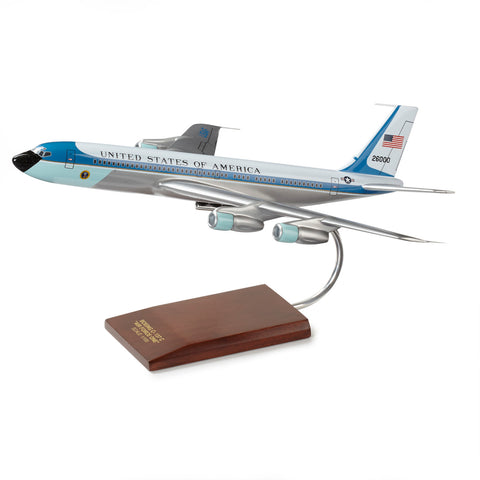 Air Force One VC-137C Wood Model