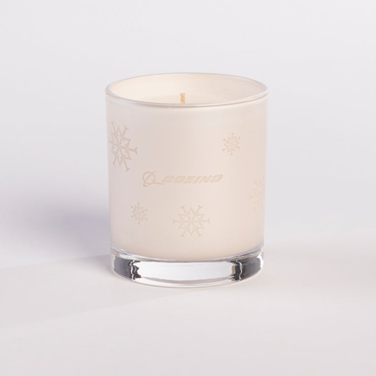 Boeing Jet Snowflake 2019 Candle (2933190131834)