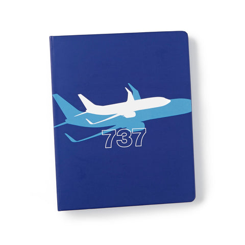 737 Shadow Graphic Notebook