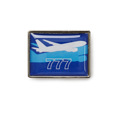 Boeing Shadow Graphic 777 Lapel Pin (199285309452)