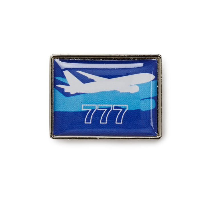 Boeing Shadow Graphic 777 Lapel Pin