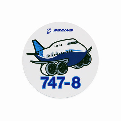 Boeing 747-8 Pudgy Sticker