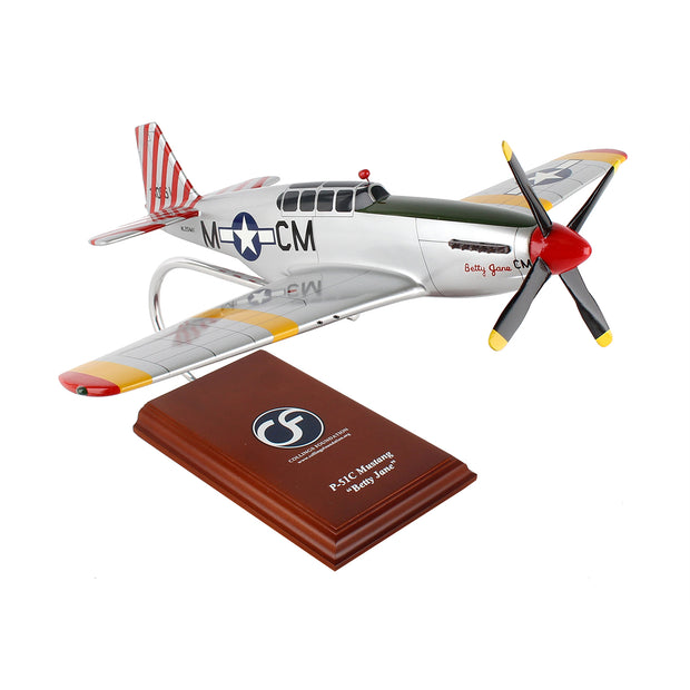 Boeing P-51C Betty Jane 1:24 Model