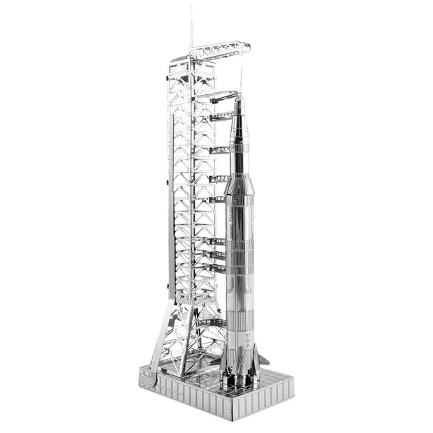 Metal Earth Boeing Apollo Saturn V with Gantry (2276463968378)