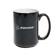 Boeing Commercial Pattern Color Changing Mug