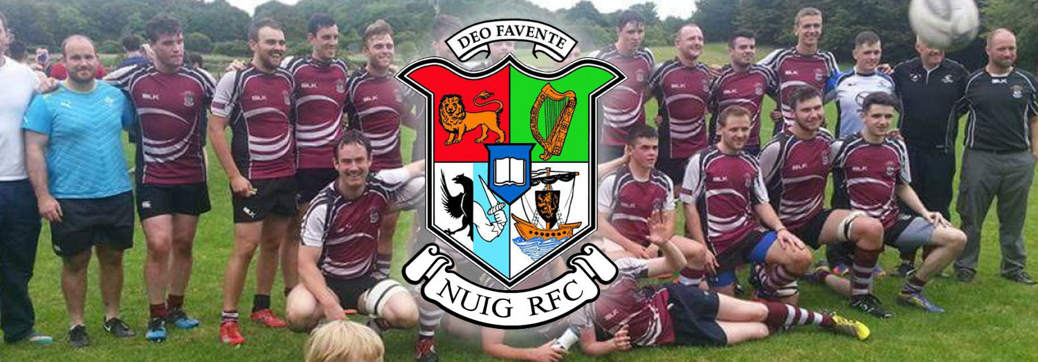 NUIG RFC Team Wear Store.ie Page