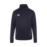 Team 1/4 Zip Mid Layer - Canterbury - Navy - Front