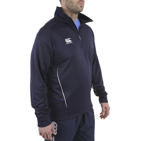 Team 1/4 Zip Mid Layer - Canterbury - Navy - Model