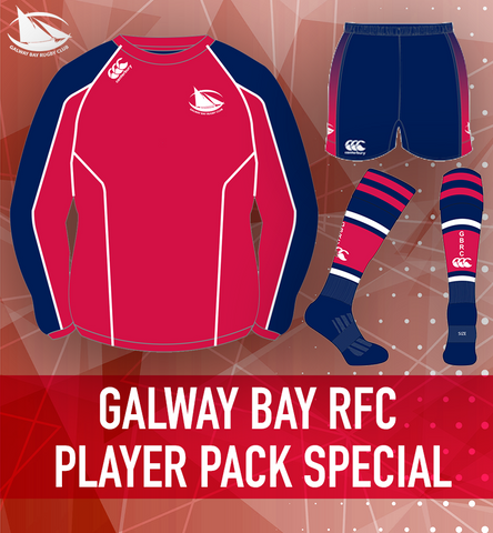 Galway Bay RFC Minis Player Pack