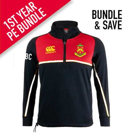The High School PE 1/4 Zip Thermal Fleece - *1st Years Compulsory Product
