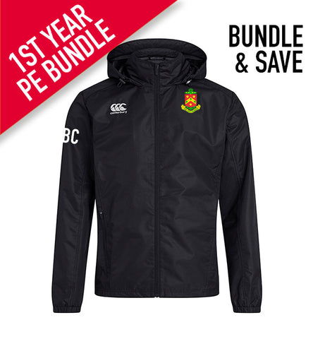 The High School Canterbury PE Rain Jacket *1st Years Compulsory Product