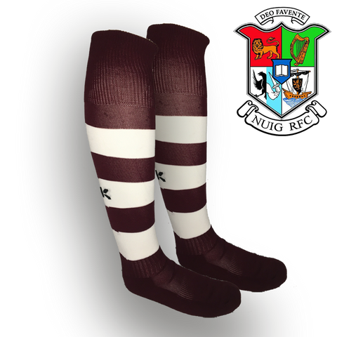 NUIG RFC BLK Club Socks - NEW