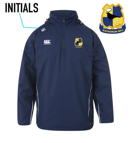 Rathdrum RFC Full Zip Adult Rain Jacket