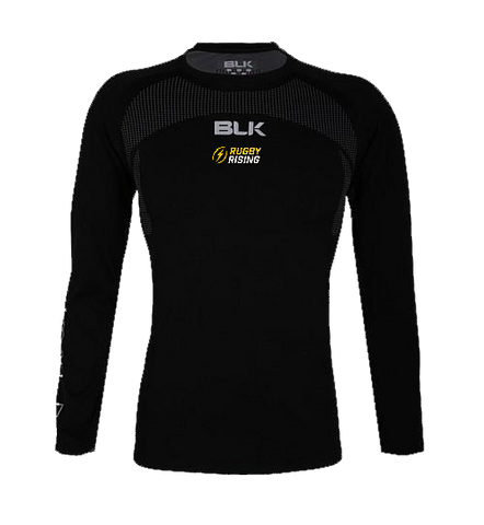 Rugby Rising BLK Base Layer Long Sleeve