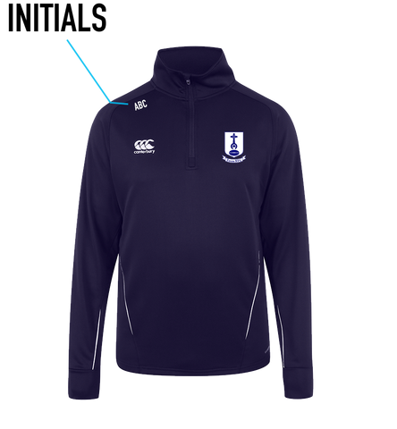 Tuam RFC Team 1/4 Zip Mid Layer
