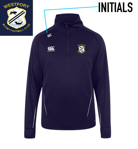Westport RFC Team 1/4 Zip Mid Layer