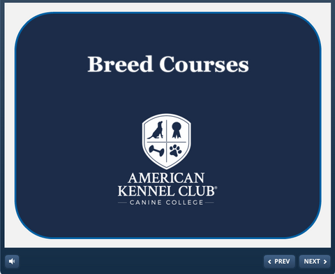 Breed Courses