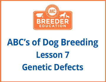 Genetic Defects Course