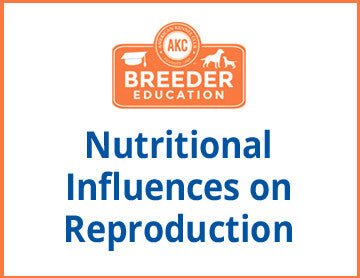 Nutritional Influences on Reproduction - Free Course