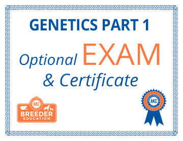 ABCs of Dog Breeding, Genetics Part 1 - Exam