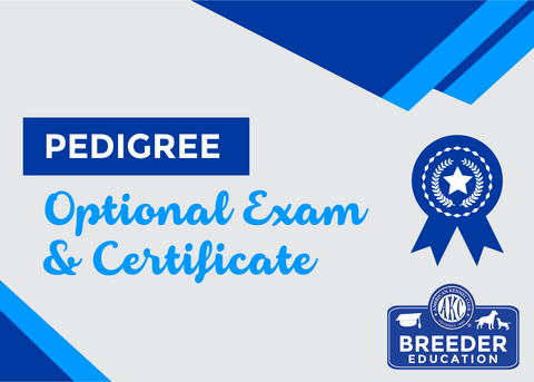 ABCs of Dog Breeding, Pedigree - Exam