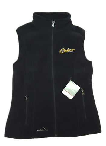 Men's Eddie Bauer Black Fleece Vest