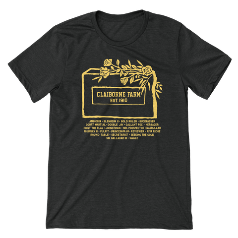 Claiborne Farm Headstone T-shirt