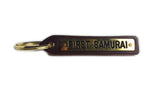 First Samurai Leather Key Chain
