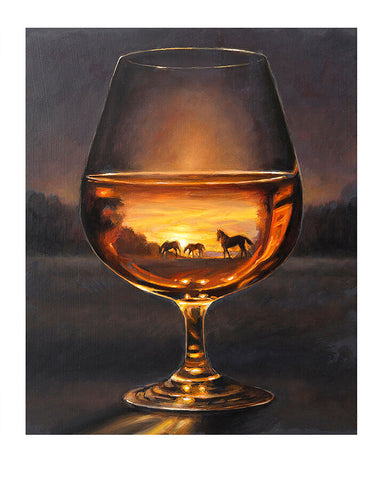 """Bourbon Vision, Kentucky Evening"""