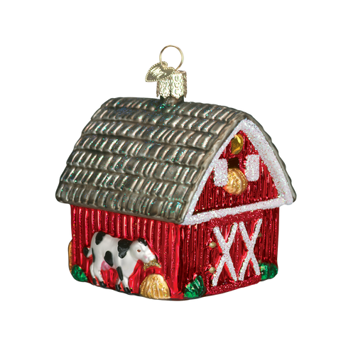 Old World Christmas Ornament - Barn