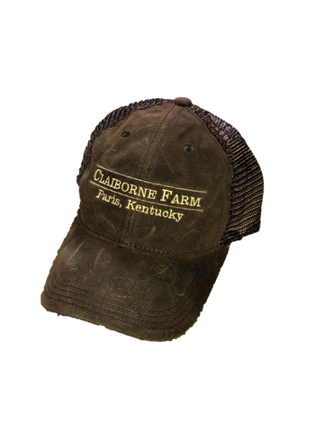 Claiborne Farm Vintage Wax Hat