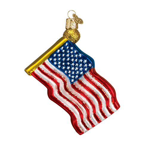Old World Christmas Ornament - Star-Spangled Banner