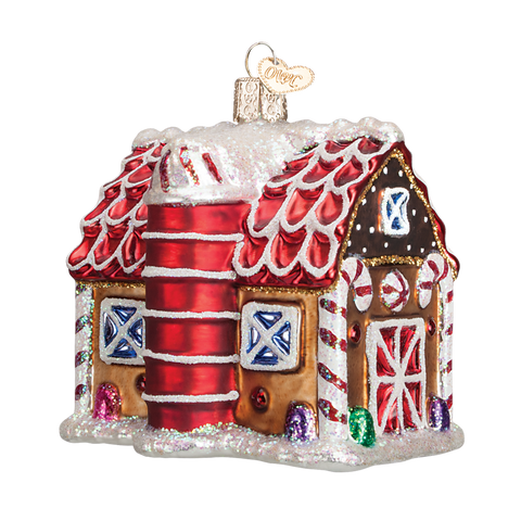 Old World Christmas Ornament - Gingerbread Barn