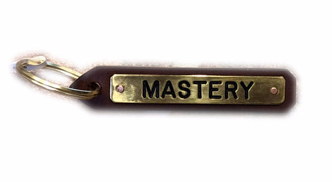 Mastery Leather Key Chain