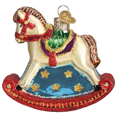 Old World Christmas Ornament- Rocking Horse