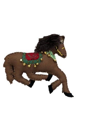 Running Horse Ornament