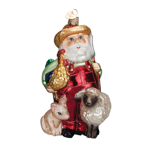 Old World Christmas Ornament - E-I-E-I-HO-HO-HO