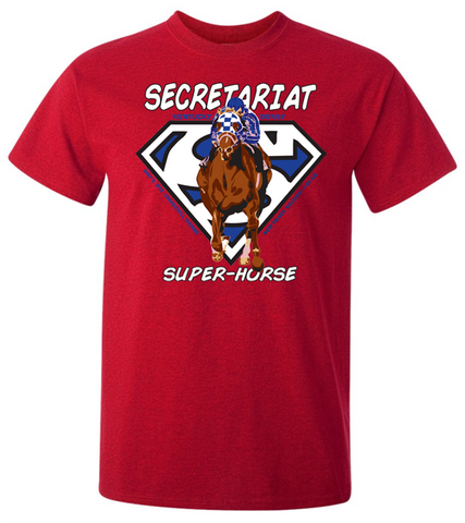 Secretariat Youth Superman T-Shirt