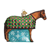 Old World Christmas Ornament - Snowflake Horse