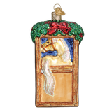 Old World Christmas Ornament - Horse in Stall