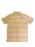 Columbia Yellow Stripe Polo