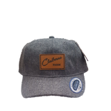 Claiborne Farm Wool Hat with Leather Patch