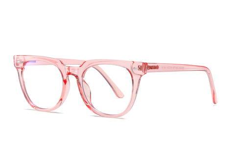 Pink - Unisex Blue Light Filtering Glasses (High-grade)